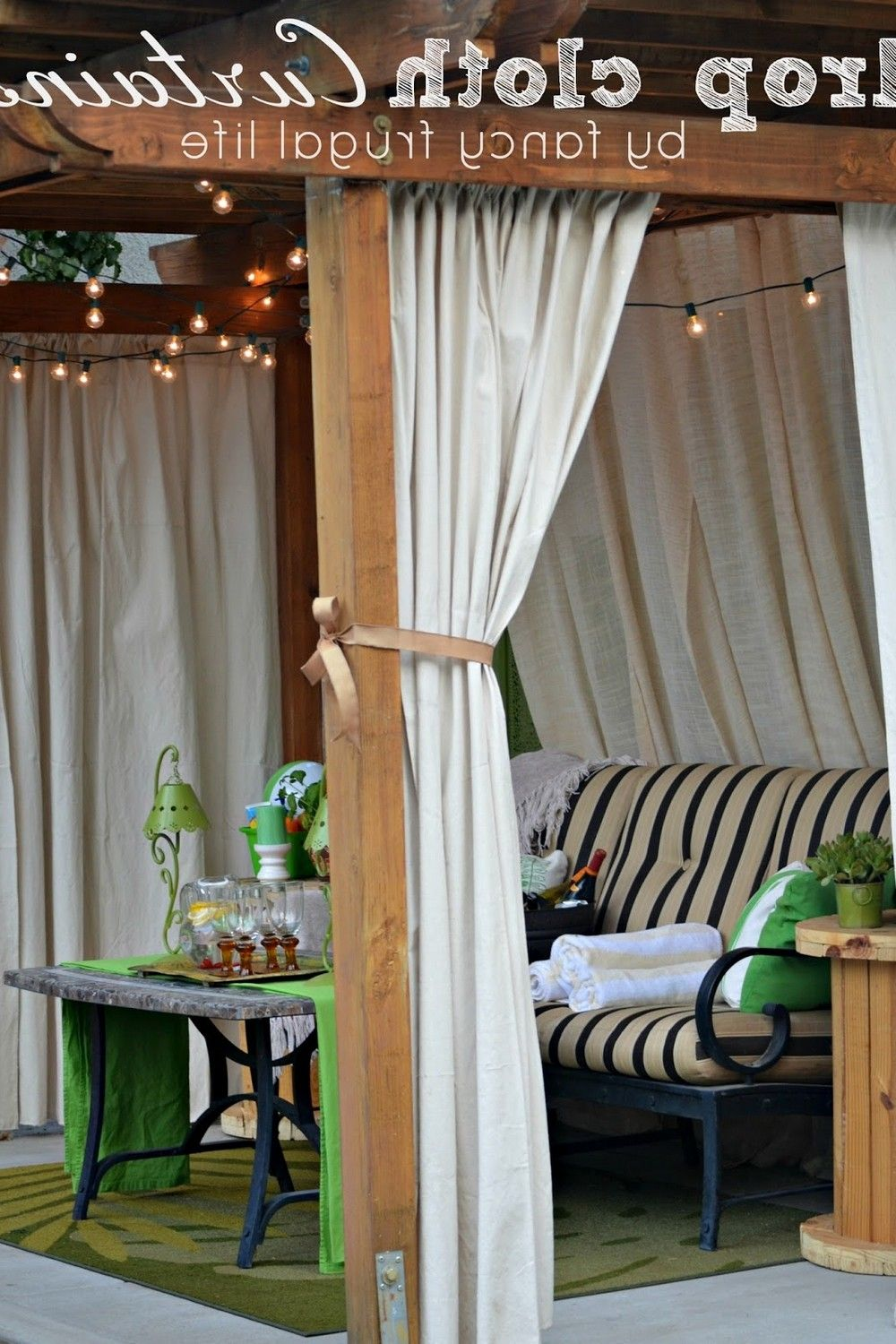Deck Decor In 2020 Outdoor Curtains For Patio Patio Makeover Outdoor Curtains Cheap