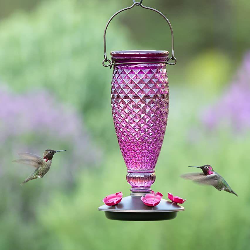 Best Home Products, Blown Glass Hummingbird