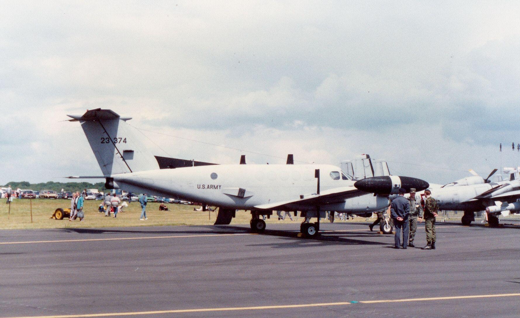 Beech c12c super king air 7623374 fighter jets