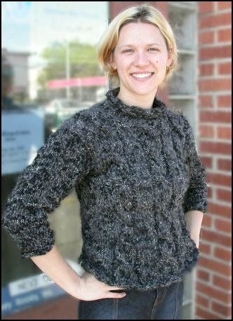 Free Knitting Pattern - Women\'s Sweaters: Musique Cable Pullover ...