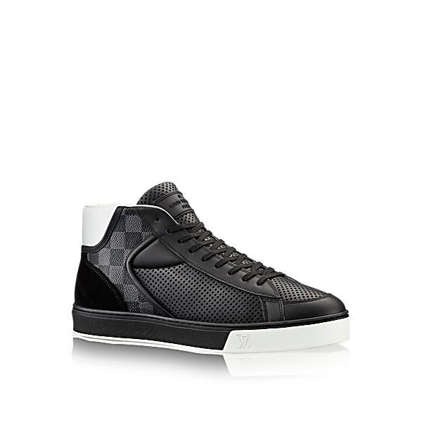 457c6b19d843a LOUIS VUITTON Player Sneaker Boot. #louisvuitton #shoes # | 板鞋 in ...