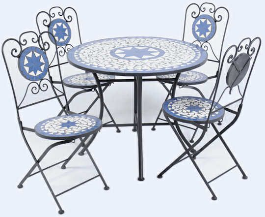 Ellister Palermo Mosaic Patio Set | Home | Pinterest