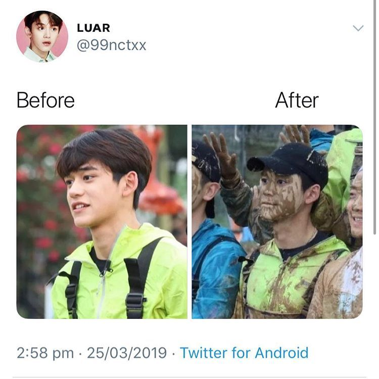 """Latest Funny Laughing So Hard NCT MEMES / fan account on Instagram: """"me whenever there is a chocolate fountain around"""" I'M LAUGHING SO HARD   #nctmemes #lucas #wayv 2"""