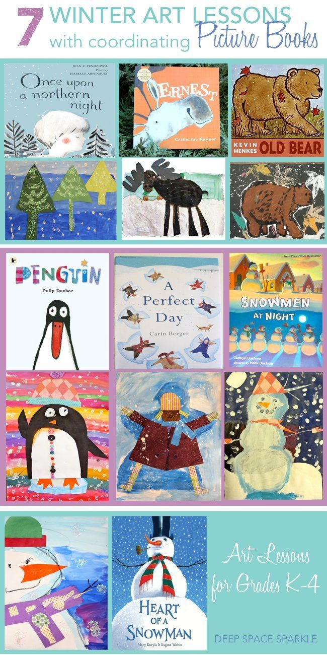 A Collection Of 7 Winter Art And Craft Projects For Kids Ages 5 10