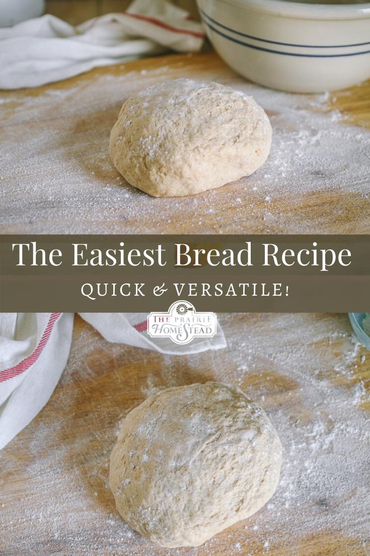 Easy Dough Recipe (for Bread, Rolls, Pizza, & More!) • The ...