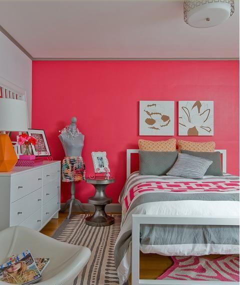Teenager Zimmer Mädchen Ideen Rosa Wände | Room Ideas | Pinterest