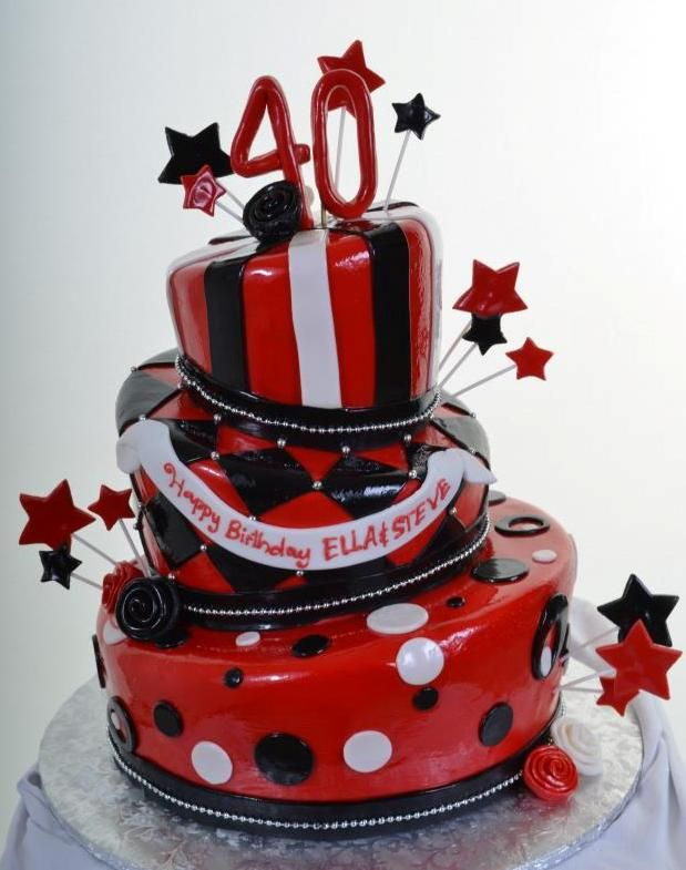 Birthday Cakes Pastry Palace Las Vegas Cake 1218 Black and