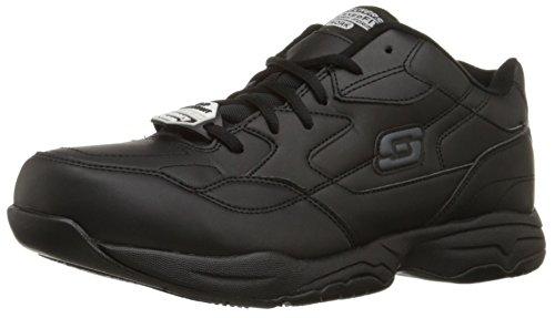 Skechers For Work Men S Felton Shoe Black Work Shoes Skechers