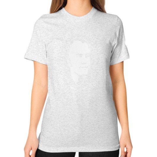 I GOT NO REASON TO KILL Unisex T-Shirt (on woman)