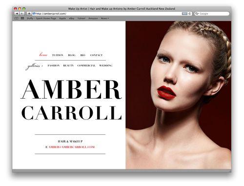 Estee Lauder Makeup Artist Web Design Development Resources
