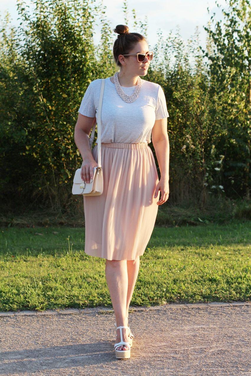 Der modeblog maxir cke und bekleidung for Rosa kombinieren