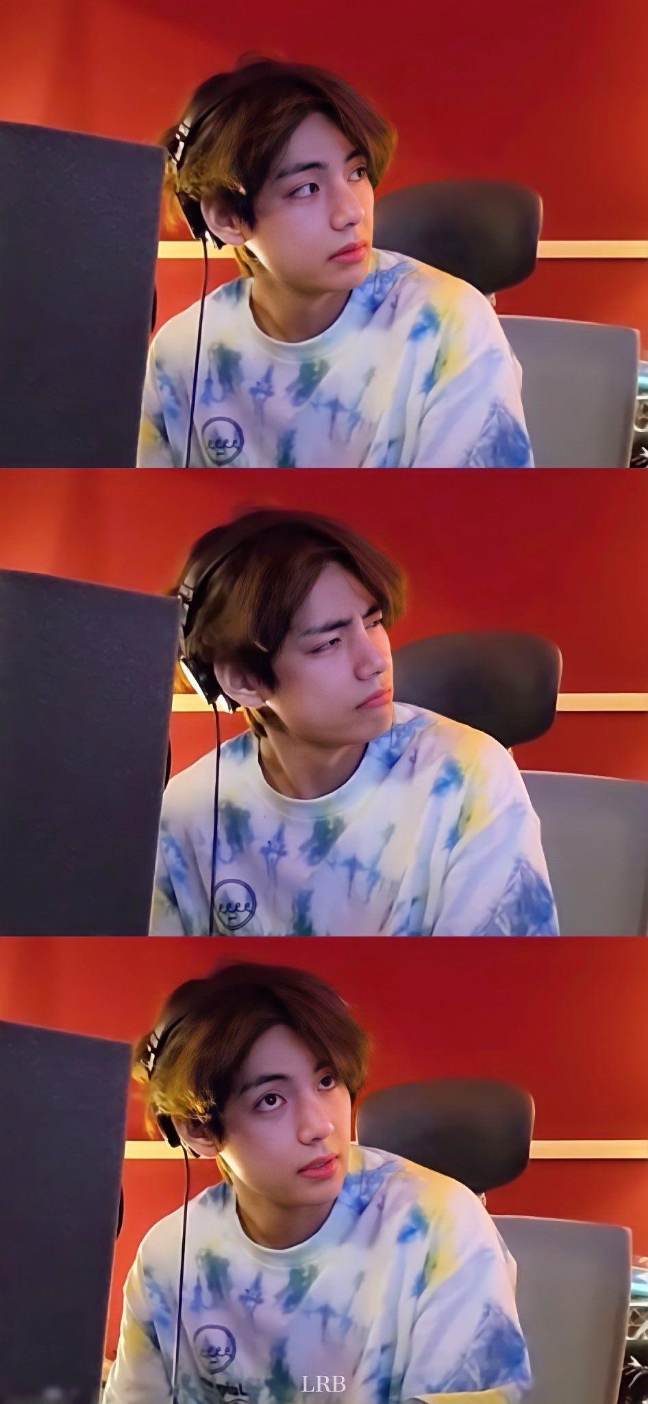 V BTS「[#BE_Log ] V l #곰랑이   」Wallpaper Lockscreen & Edit 4K