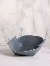 Gray Ceramic bowl  Modern Serving dish by FreeFolding ceramic studio Gray Ceramic bowl  Modern Serving dish by FreeFolding ceramic studio