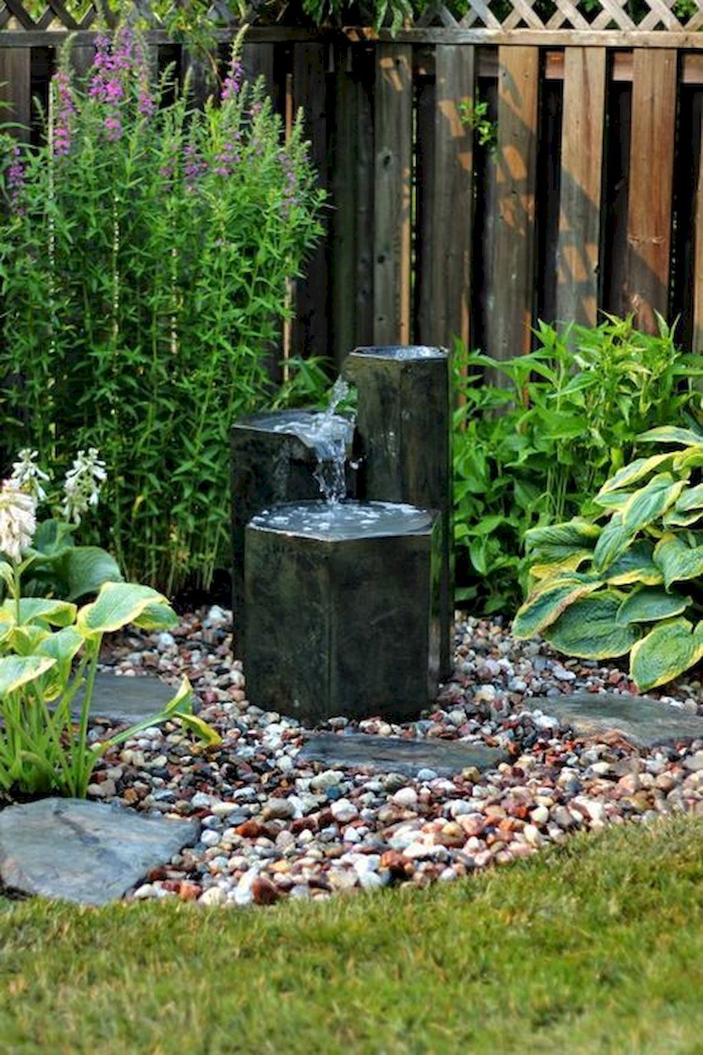 70 Unique Backyard Garden Water Feature Landscaping Ideas - homixover.com #waterfeatures