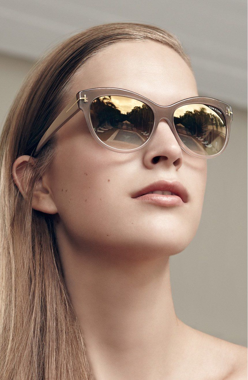 Free Shipping And Returns Tom Ford 'lily' 56mm Cat Eye