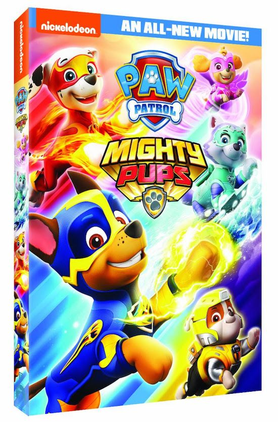 Paw Patrol Mighty Pups Movie Giveaway Ends 9 10 Bad Movies