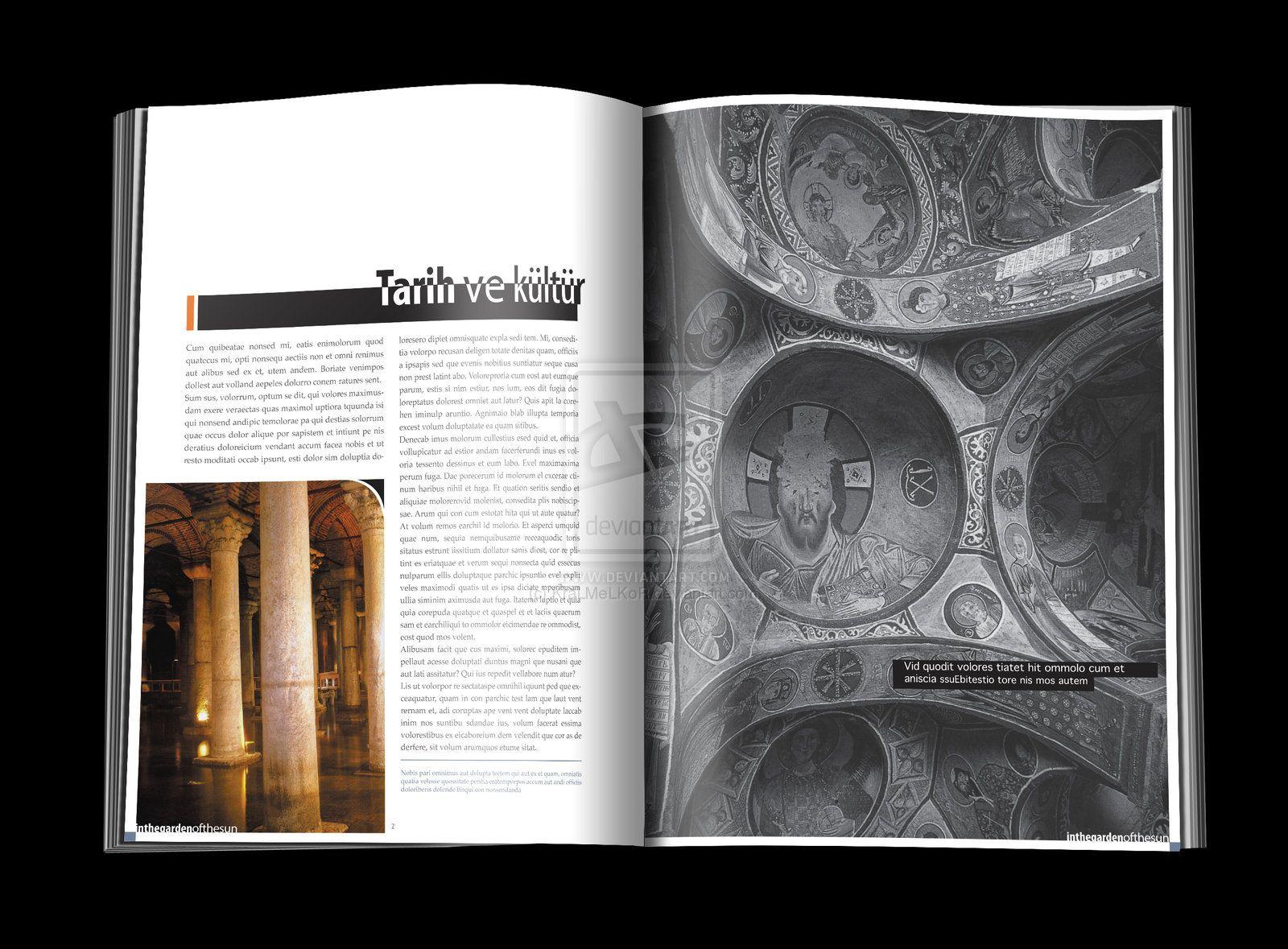 TURKEY page layout example 1 by KraLMeLKoR.deviantart.com on @DeviantArt
