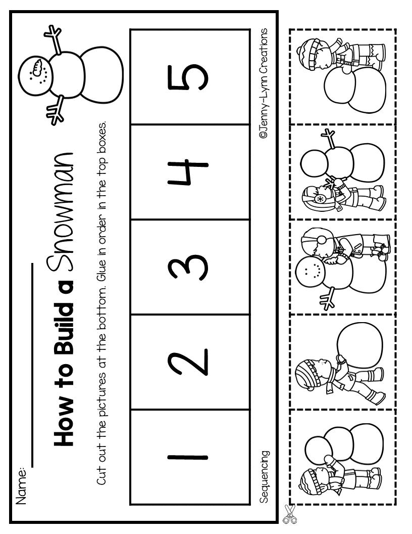 January Math Literacy Winter Activities Preschool January Math Math Literacy [ 1056 x 816 Pixel ]