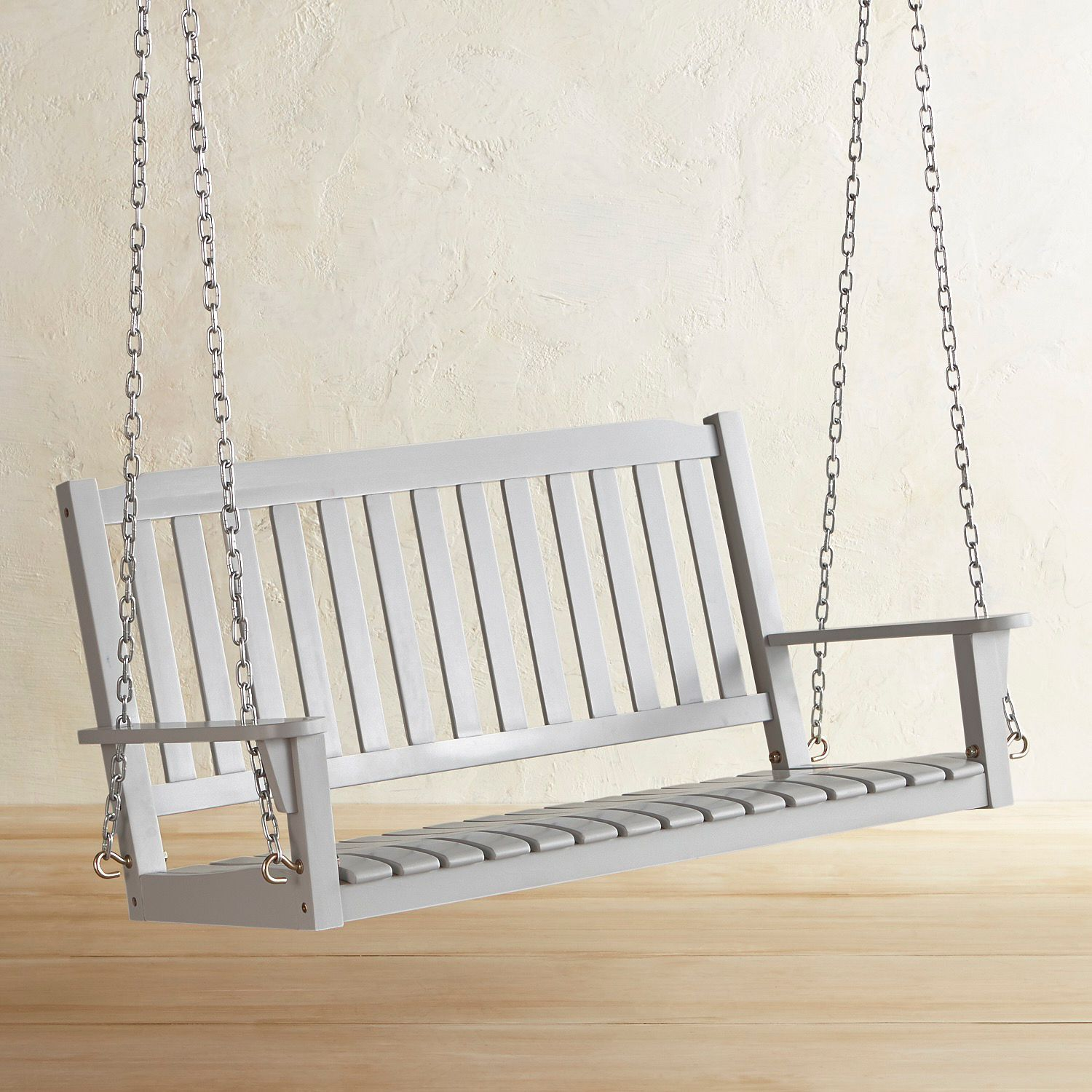 Rock Point Gray Porch Swing Porch Swing Porch Swings For Sale