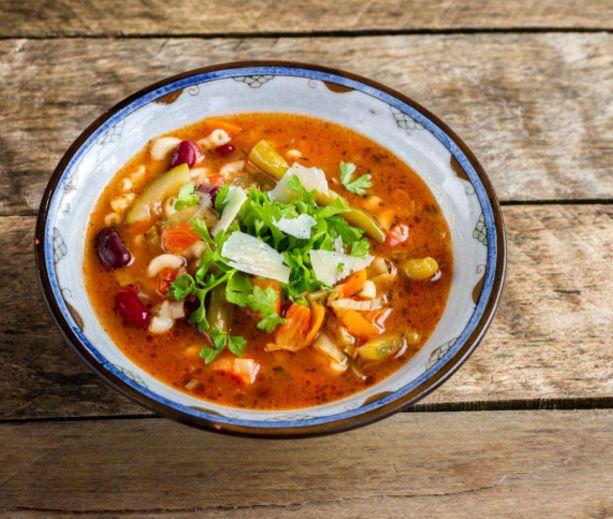 Vegetarian Minestrone [Slow Cooker]