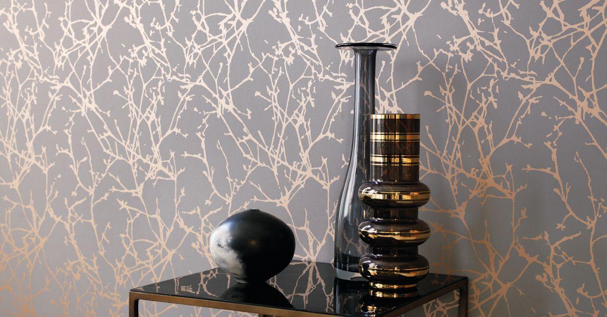 Die Tapete Arbor von Black Edition verkörpert pure Eleganz!