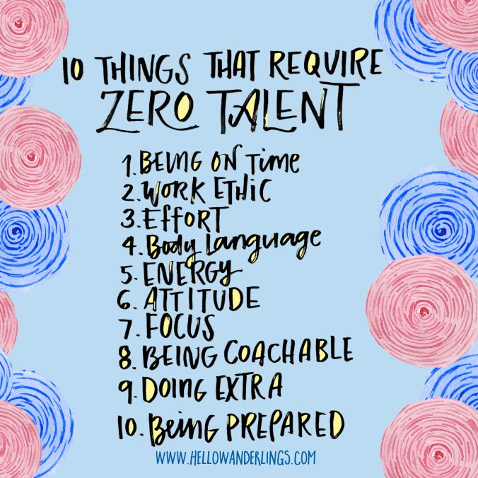 10 Things That Require Zero Talent Classroom Quotes School