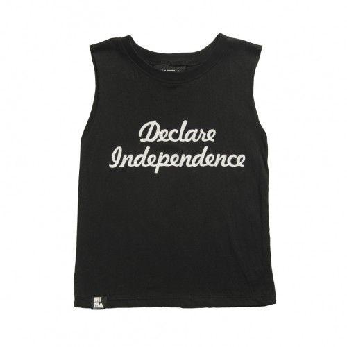 Mini + Maximus Independence Muscle Tee // poppyscloset.com #kids