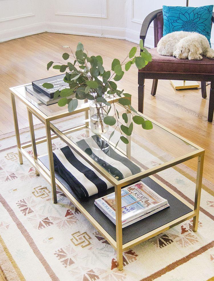 Gold Tone Ikea Hack Eavan Elizabeth Ikea Hack Ikea Creative