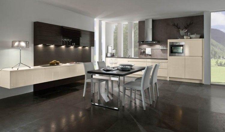 Stylisch, clean und immer auf dem neuesten Stand der Technik ... | {Moderne küchen 73}