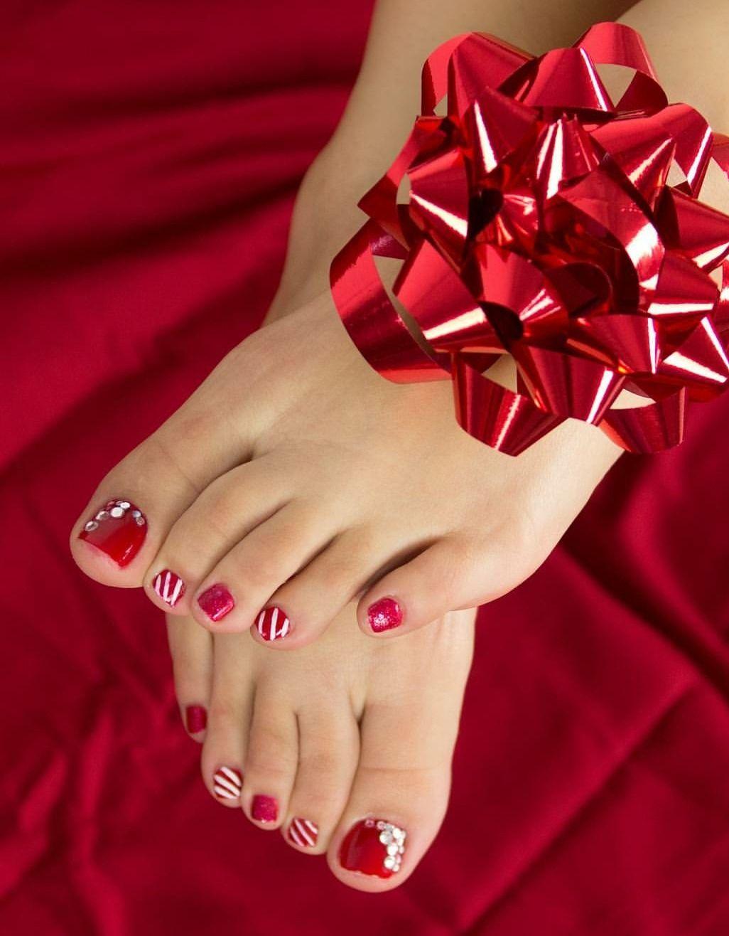 Adoración a los pies femeninos, pies perfectos, limpios y con ...