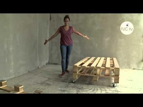 NCTV] J\'ai testé pour vous - Fabriquer un canapé avec une palette en ...