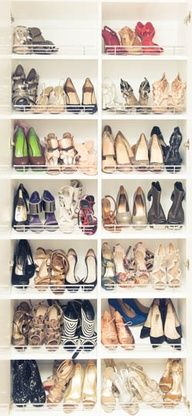 Dream shoe closet... Time to get my shoe game up
