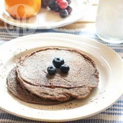 Chia Pfannkuchen mit Bananen und Blaubeeren @ de.allrecipes.com
