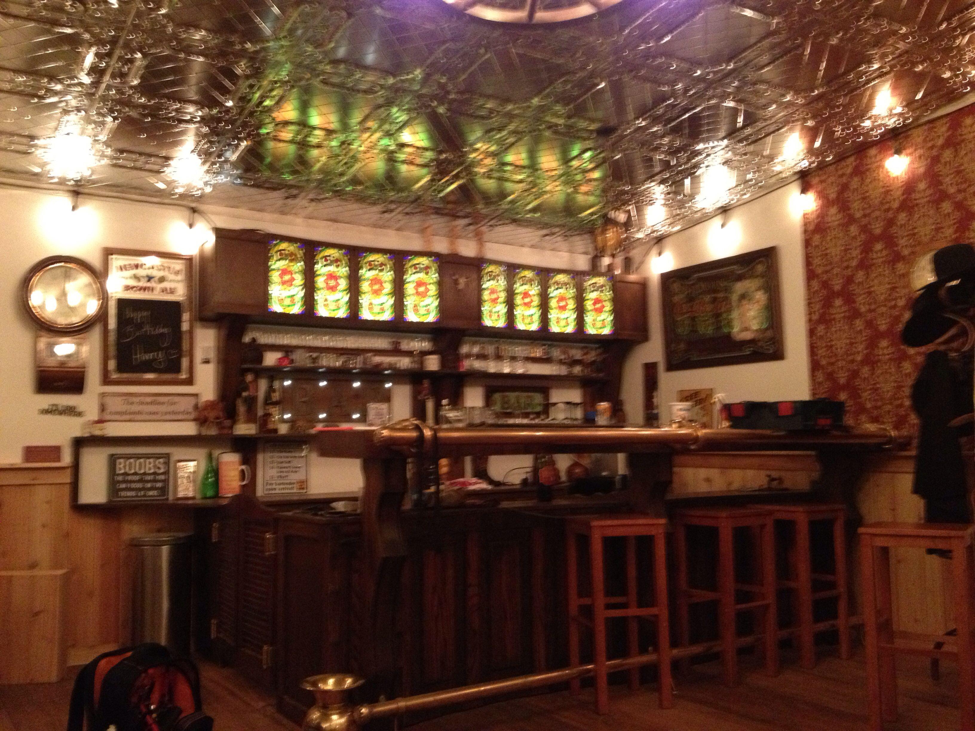 """Long horn saloon """"the bar """""""