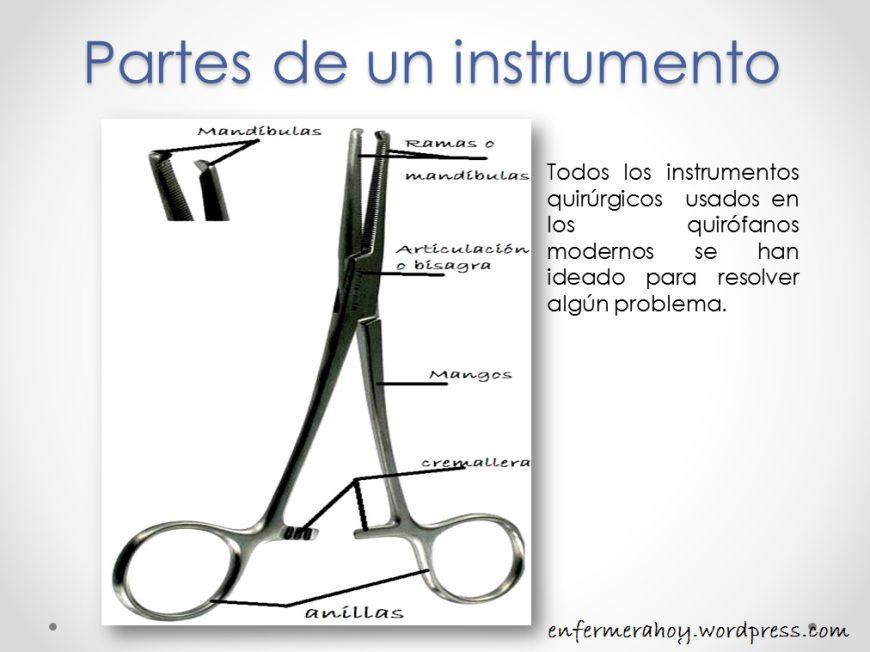 Tiempos Quirúrgicos y algunos instrumentos