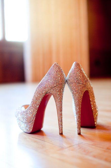 sparkly sexy heels