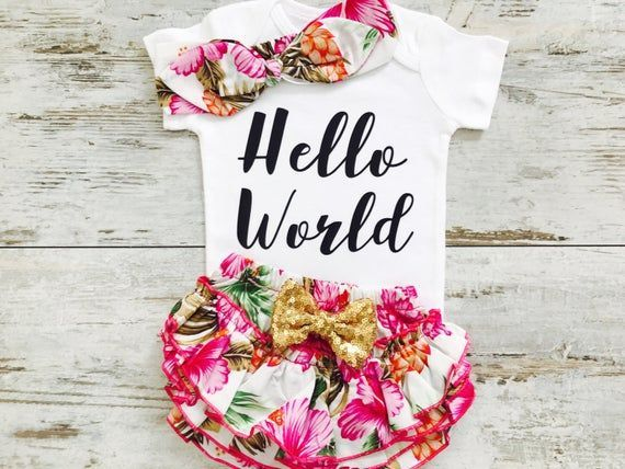 newborn girl outfit coming home outfit baby girl n