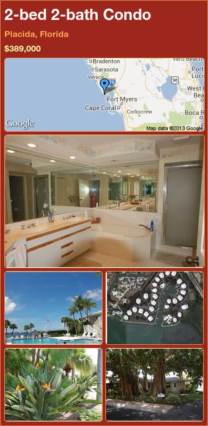 2-bed 2-bath Condo in Placida, Florida ►$389,000 #PropertyForSale #RealEstate #Florida http://florida-magic.com/properties/15045-condo-for-sale-in-placida-florida-with-2-bedroom-2-bathroom