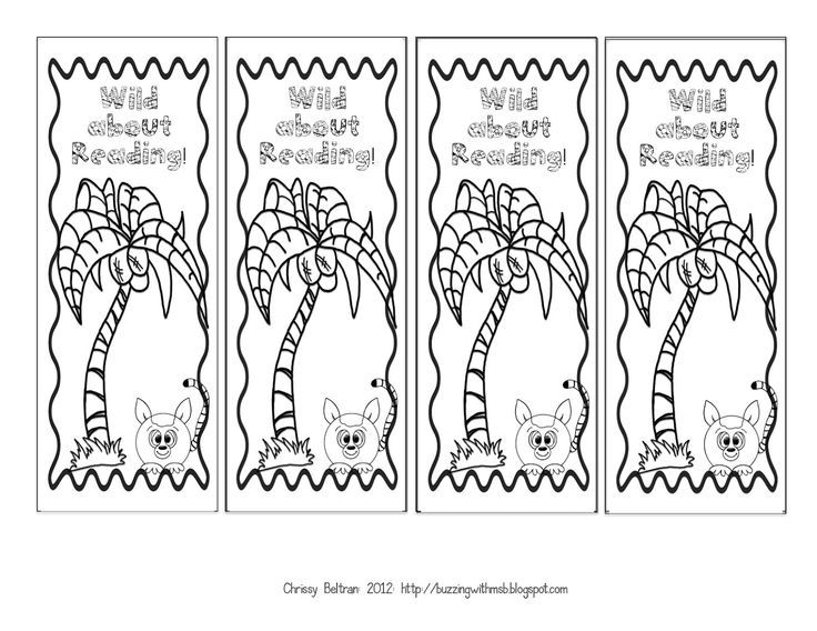 reading bookmark coloring pages Google Search Coloring