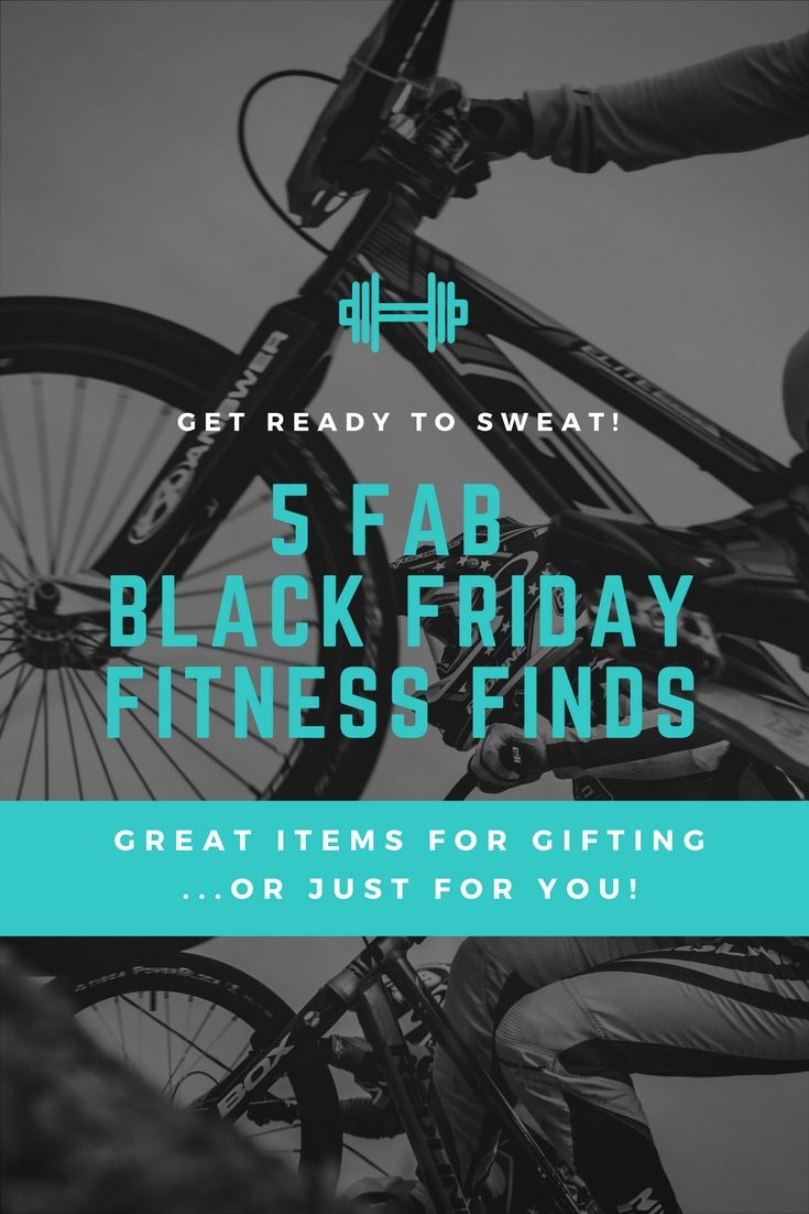 It's Black Friday! Are you ready to shop? Here's a list of some awesome fitness items that are great for gifting (or just keeping for yourself!).