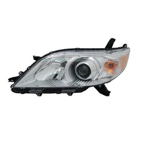 2015 Toyota Sienna Left Driver Side Halogen Head Light Assembly Except Se Models To2502199V