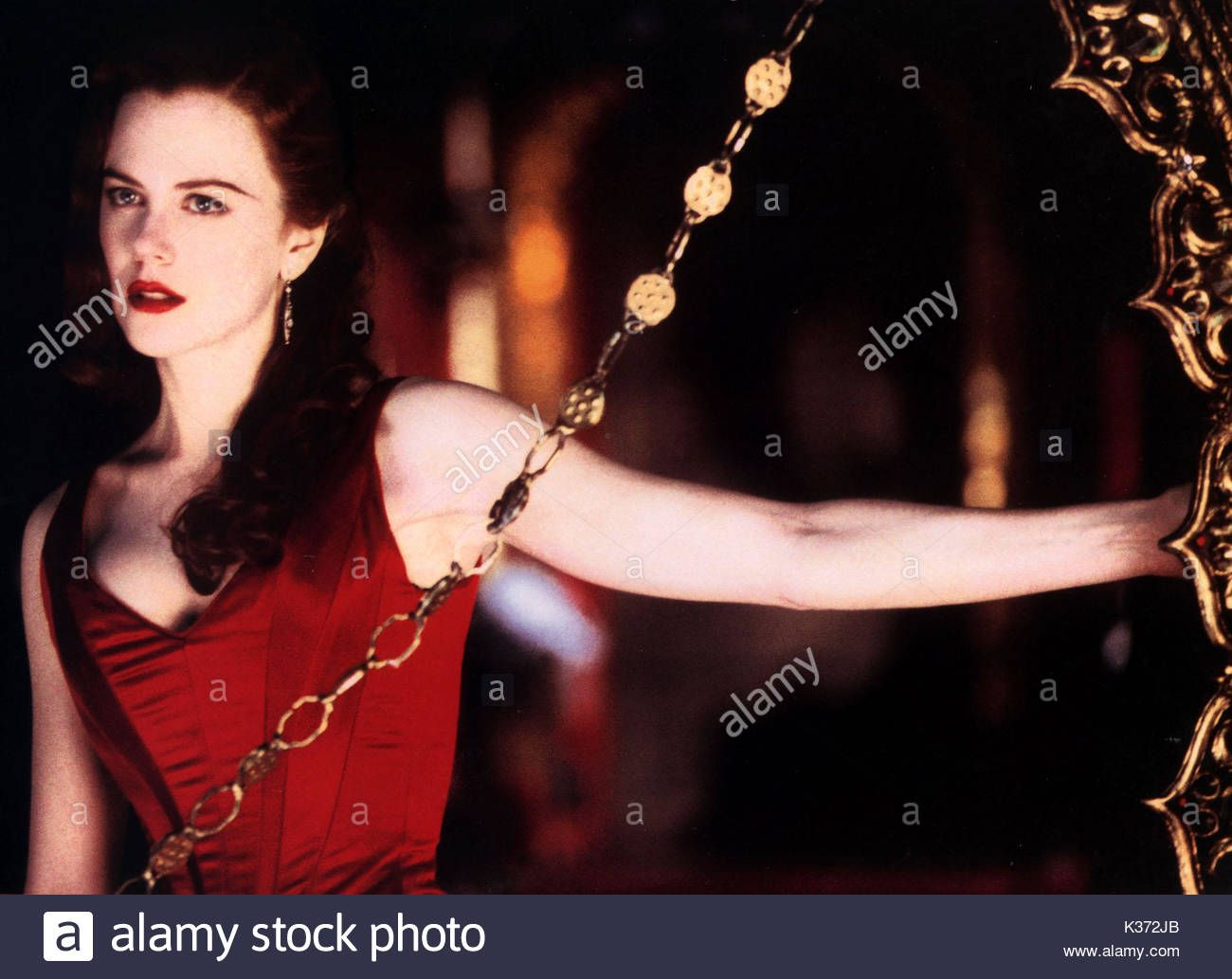 Download this stock image: MOULIN ROUGE! NICOLE KIDMAN ...