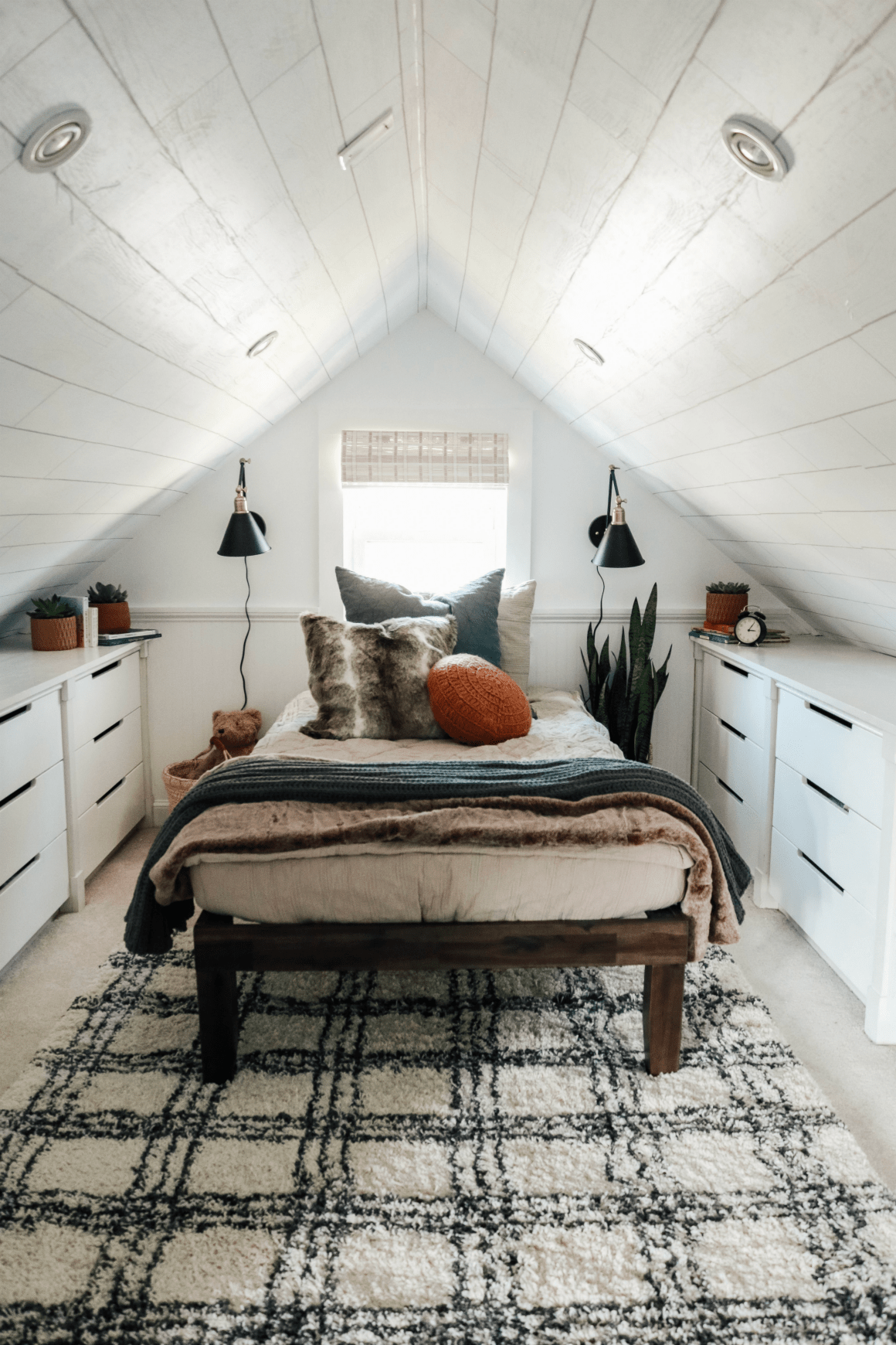 Patricks Dormer Bedroom Reveal Nesting With Grace Attic