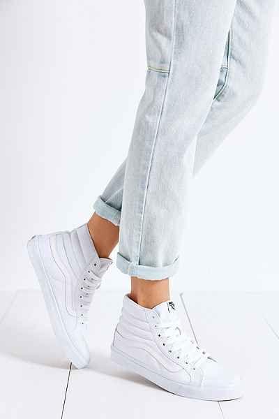 04a951ce0c0 Vans Sk8-Hi Slim Tonal Womens Sneaker - Urban Outfitters