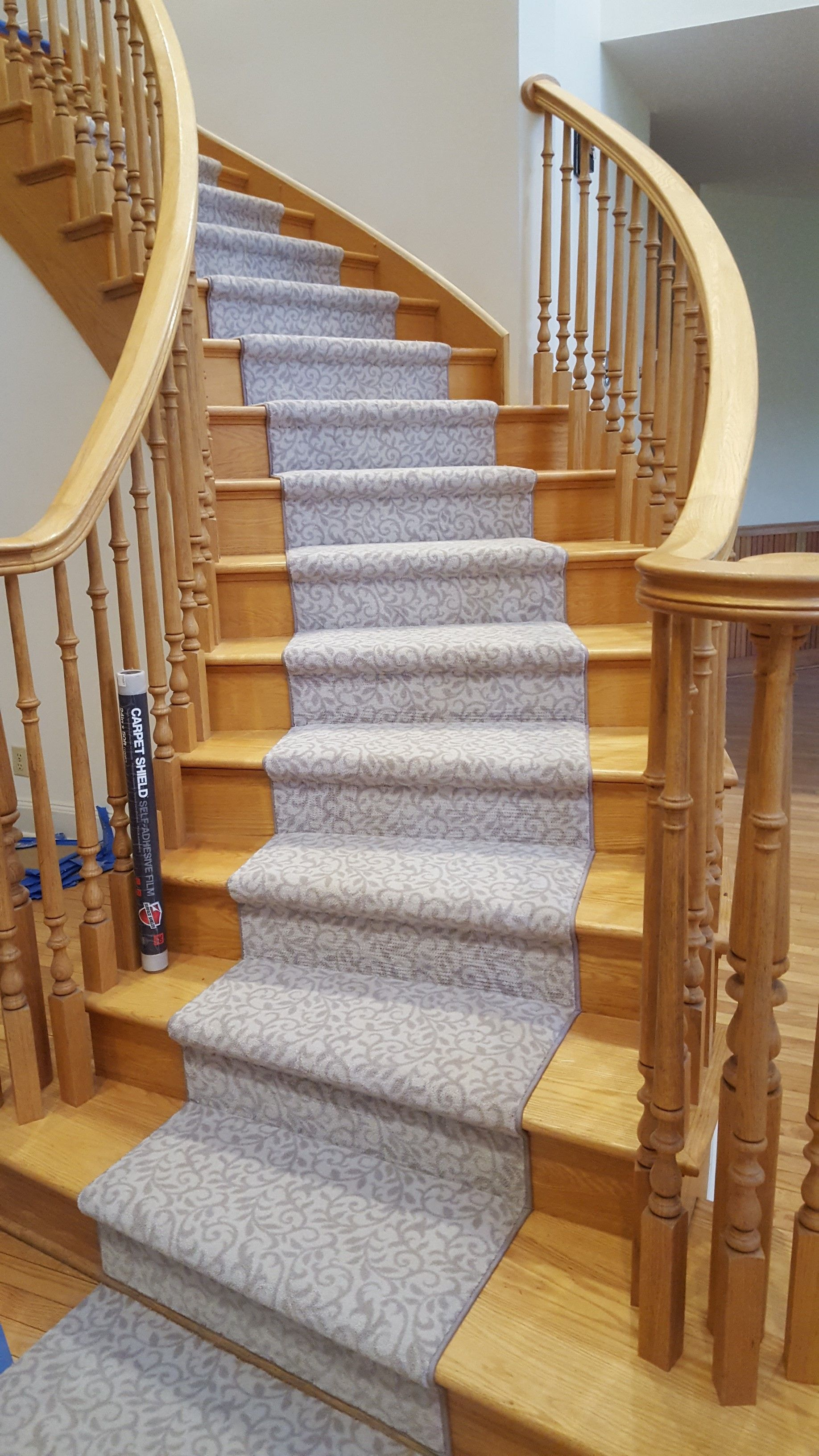 Best Custom Installation Of Milliken Pure Elegance Carpet On 400 x 300