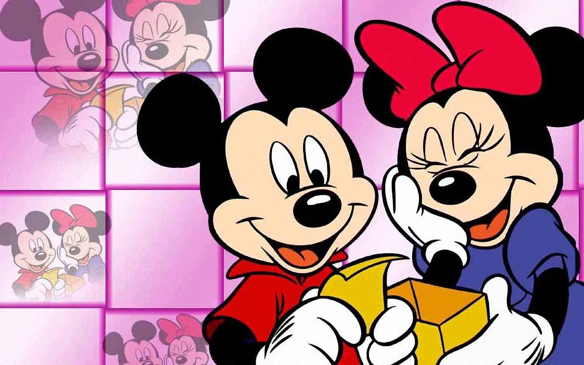 Fondo De Pantalla De Mickey Mouse Y Minnie Mouse 21646