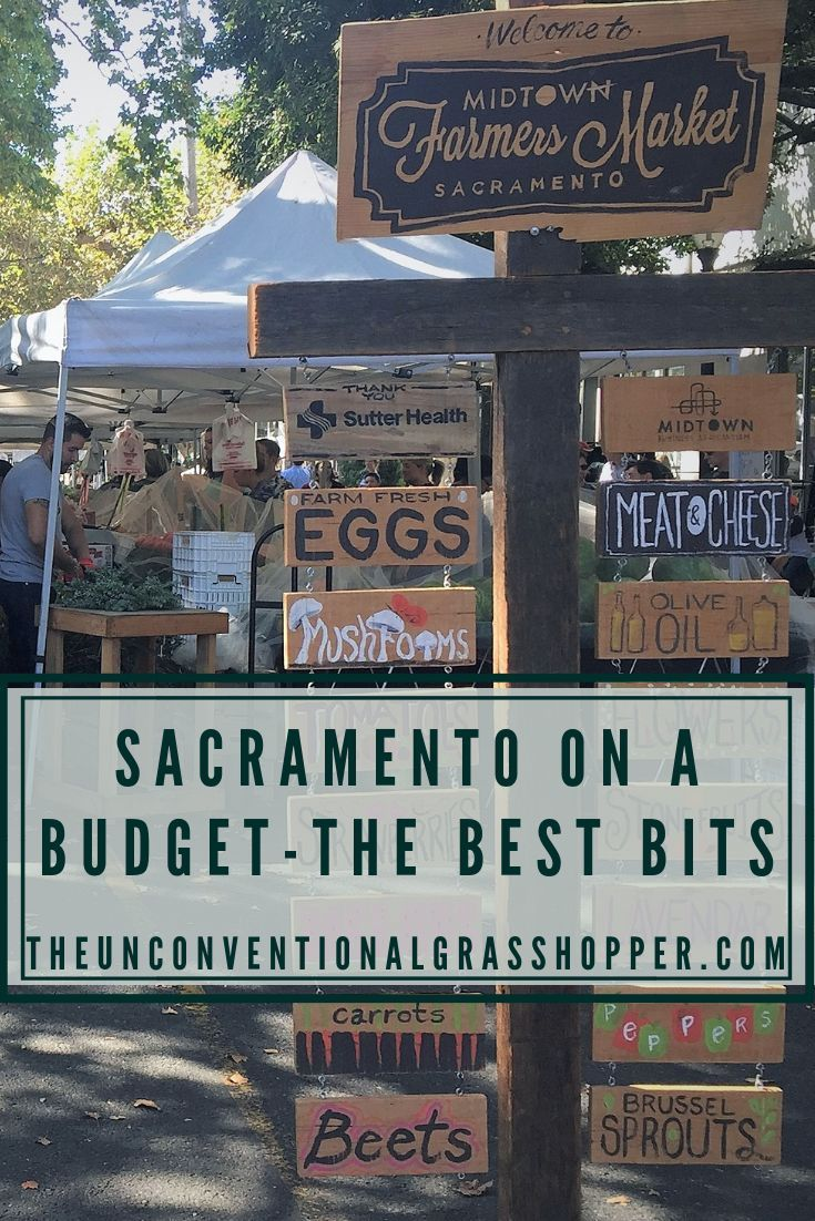 Sacramento is the Farm to Fork capital of the US. Head down to the farmers market to pick up all the ingredients for a picnic in the park and save money on lunch ideas!#sacramento #california #travel #traveller #budgettravel #budgettraveller #cheaptravel #ustravel #citybreak #urbantravel #urbantraveller #foodie #foodietravel #farmersmarket #budgettraveltips