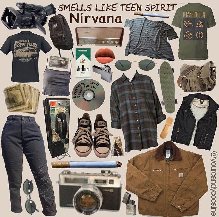 Grungeoutfits90s Retro Outfits Grunge Outfits Aesthetic Clothes