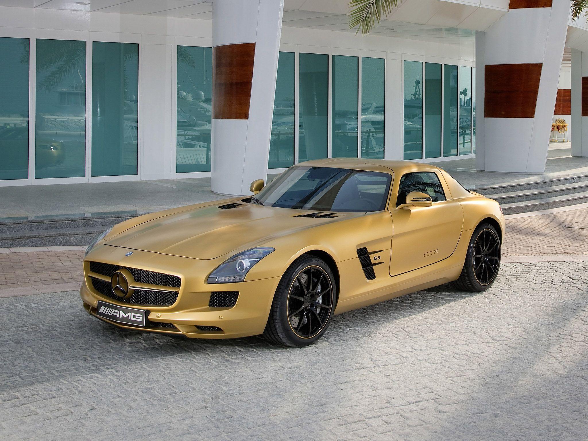 Mercedes Benz Sls 63 Amg Desert Gold Mercedes Benz Sls Amg