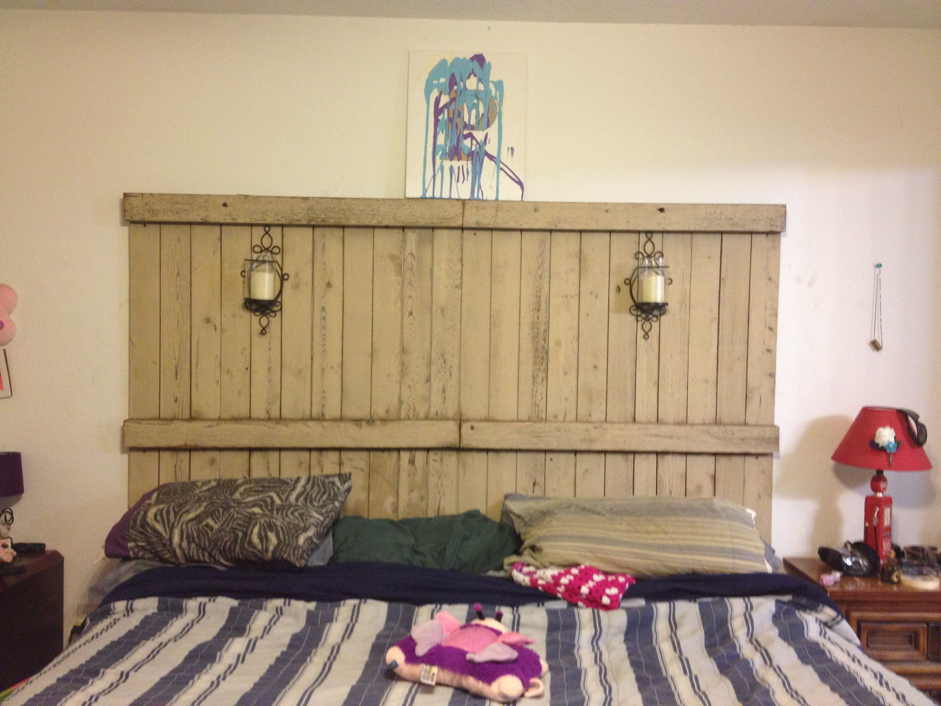 images unfinished headboard of panel profile wooden low high custom with the rustic bed headboards collection cypress ace barn furniture repurposed door wood